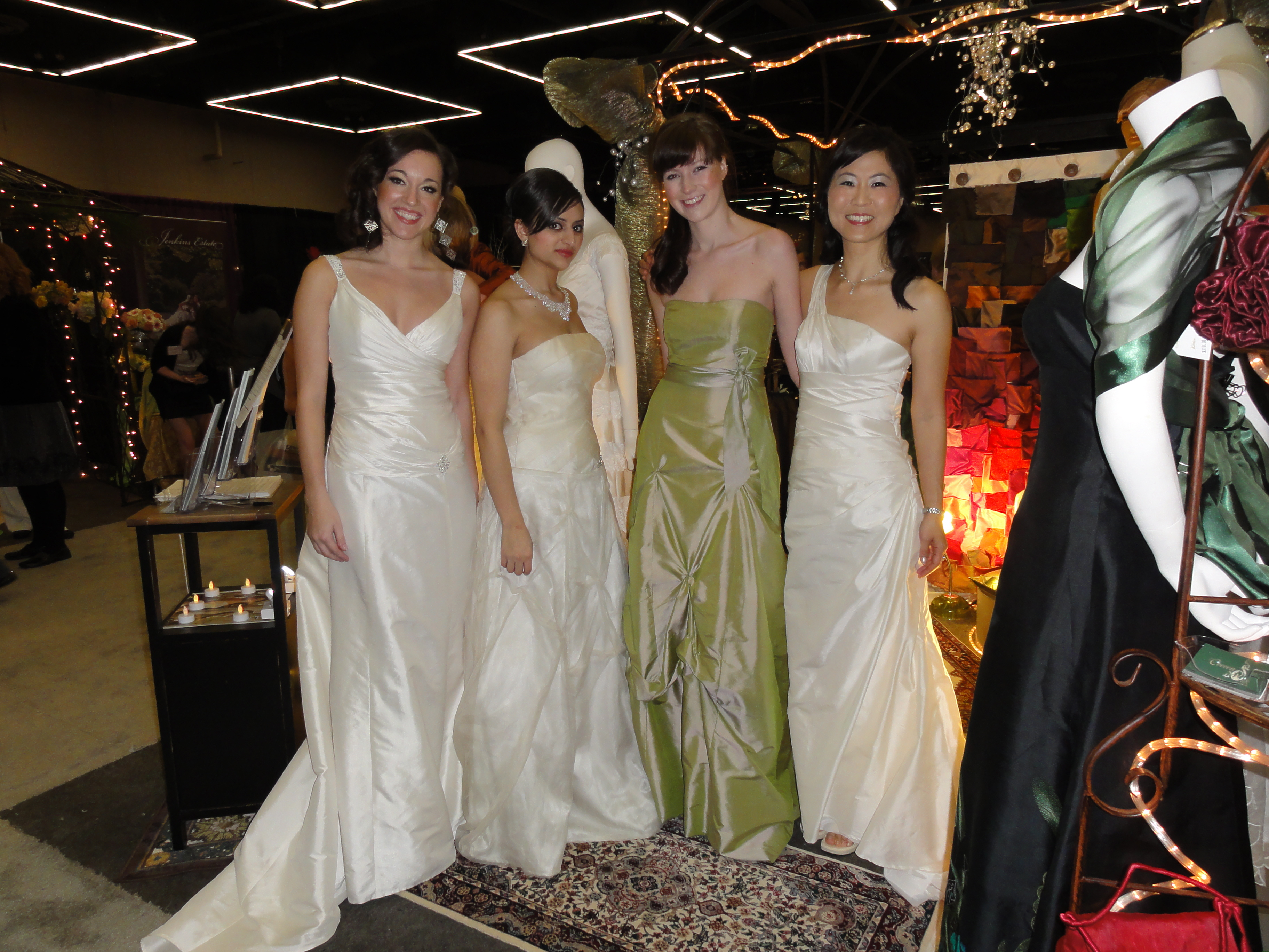 MIM Special Project: Marketing Cocoon Silk at the Portland Bridal ...