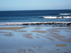 From Phillip Island looking south towards Antarctica waiting for the Little Penguins to come ashore