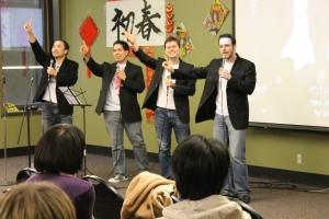 "Advanced Japanese students sing ""Sekai Ni Hitotsu Dake No Hana"""