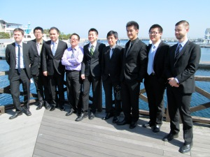 Some of the MIM men in Japan