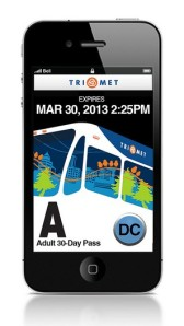 Trimet GlobeSherpa ticket
