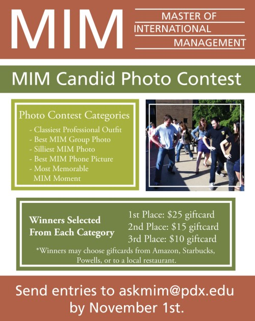 MIM Candid Photo Contest